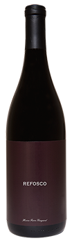 2012 Refosco – Home Farm Vineyard