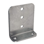 "Heavy Duty Vertical Bunk Bracket 6"" Galvanized THUMBNAIL"