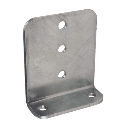 "Heavy Duty Vertical Bunk Bracket 6"" Galvanized"
