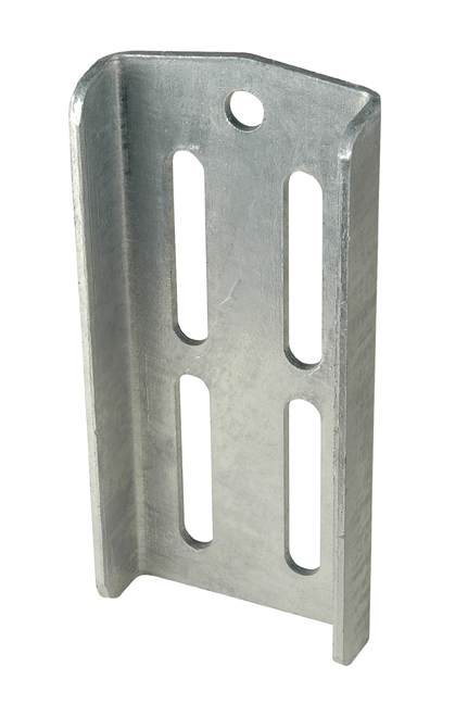 "Double U-Bolt Bracket 8-3/4"" Galvanized"