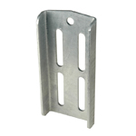 "Double U-Bolt Bracket 8-3/4"" Galvanized THUMBNAIL"