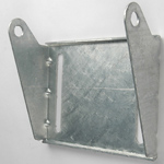 "Panel Bracket - 8"" Galvanized_THUMBNAIL"