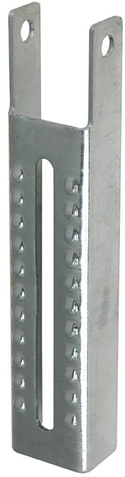 Vertical Bunk Bracket Lanced, 9-1/2'' MAIN