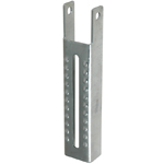 Vertical Bunk Bracket Lanced, 9-1/2''