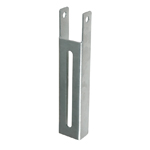 Vertical Bunk Bracket Smooth, 12-5/8""