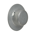"Cap Nuts -5/8"" Diameter 8 Per Package THUMBNAIL"