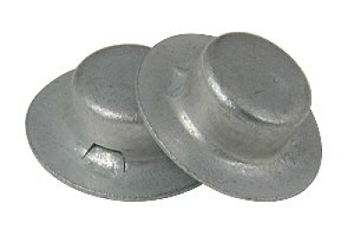 "Cap Nuts -1/2"" Diameter 8 Per Package"