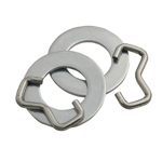 Retainer Rings & Washers for Wobble Roller (Hog Rings)