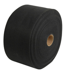 "Roll Carpet, Black- 11"" X 150'"