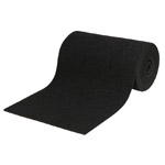 "Roll Carpet, Black- 11"" X 12'"