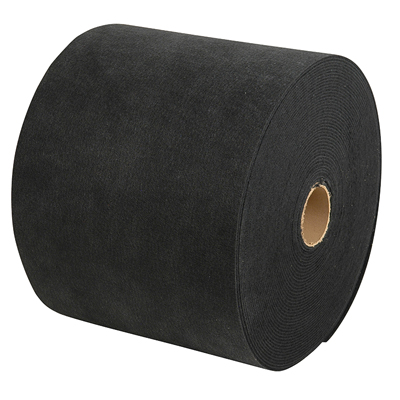 "Roll Carpet, Black- 18"" X 150' MAIN"