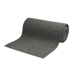"Roll Carpet, Grey- 18"" X 18'"