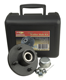 "Trailer Hub Kit 1-1/16"" Spindle, 4x4"" Stud 1350 Lb Capacity"