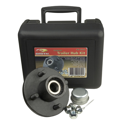 "Trailer Hub Kit 1"" Spindle, 4x4"" Stud 1250 Lb Capacity"