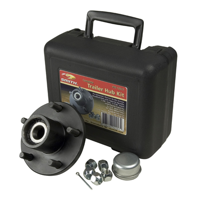 "Trailer Hub Kit 1-1/16"" Spindle, 5x4.5"" Stud 1350 Lb Capacity"