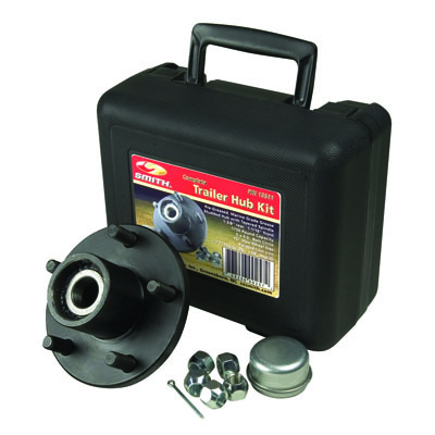 "Trailer Hub Kit Tapered Spindle, 5x4.5"" Stud 1750 Lb Capacity"