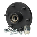 "Trailer Hub Kit Tapered Spindle, 6x5.5"" Stud 1750 Lb Capacity"