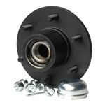 "Trailer Hub Kit Tapered Spindle, 6x5.5"" Stud 3000 Lb Capacity"