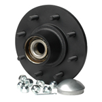 "Trailer Hub Kit Tapered Spindle, 8x6.5"" Stud 3500 Lb Capacity"