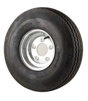 "4.80/4.00-8 Bias Tire With 8"" Galvanized Wheel"