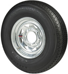 "St235/80r16 Radial Tire With 16"" Galvanized Wheel"