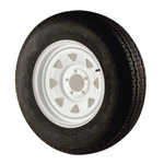 "225/75d15 Bias Tire With 15"" White Wheel"
