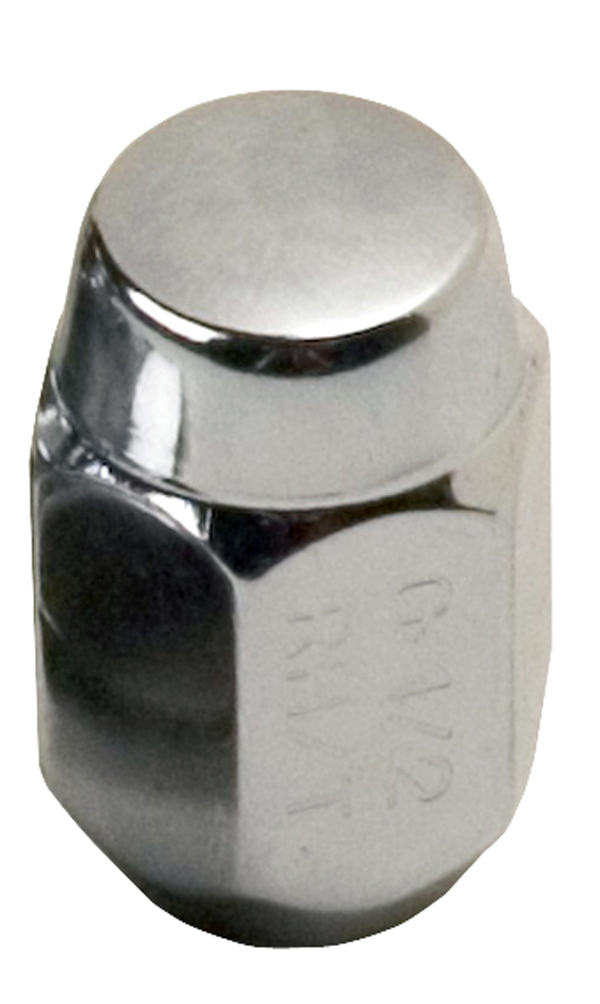 "Chrome Acorn Nut- 1/2"" MAIN"