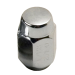"Chrome Acorn Nut- 1/2"" THUMBNAIL"