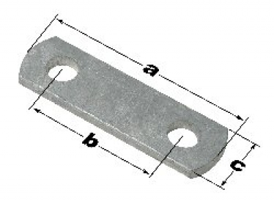 "Frame Strap/Shackle Link 8-1/4"" Long MAIN"