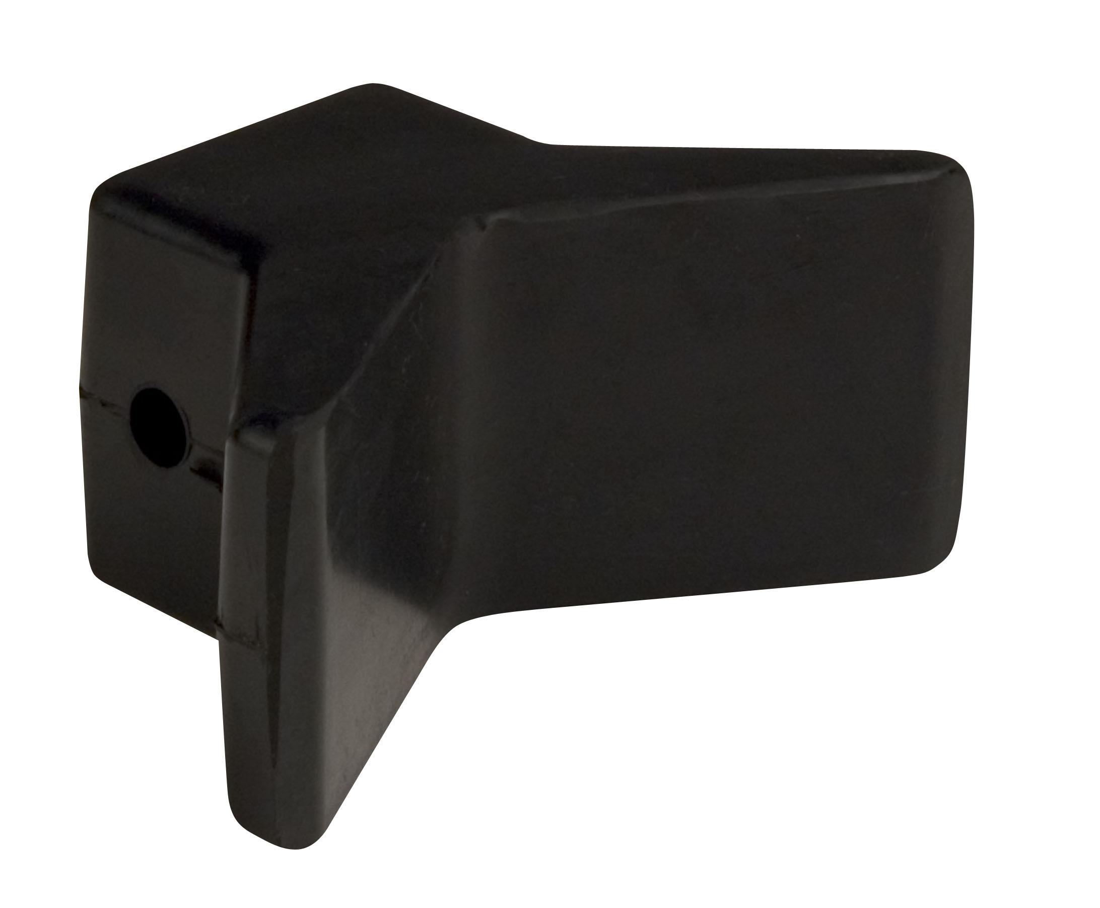 "3""X3"" Bow Y Stop Black Natural Rubber MAIN"