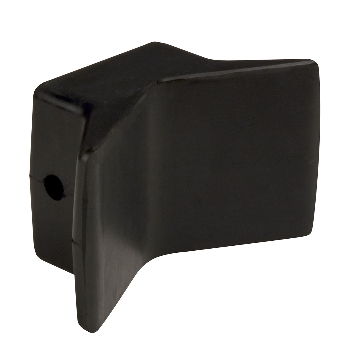 "4""X4"" Bow Y Stop Black Natural Rubber MAIN"