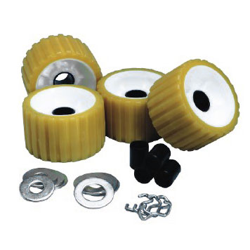 Ribbed Roller Kit Yellow Tpr MAIN