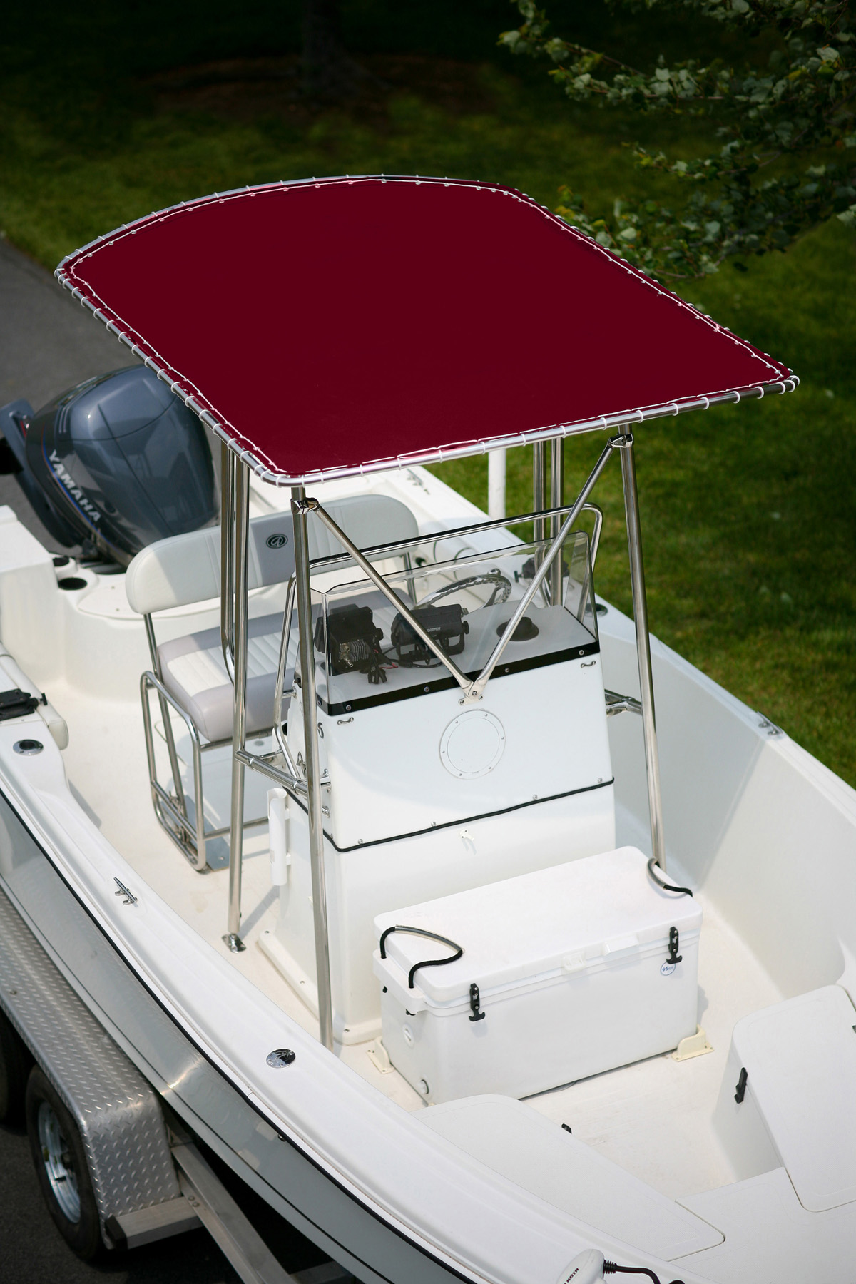 T-Top Cover- Burgundy MAIN