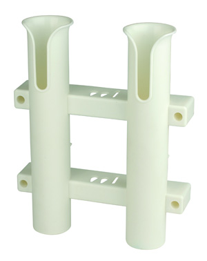 Tournament 2 Rod Rack- White