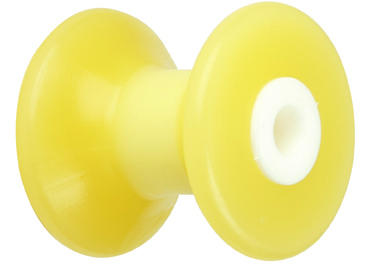 "3"" Bow Roller Yellow TPR"