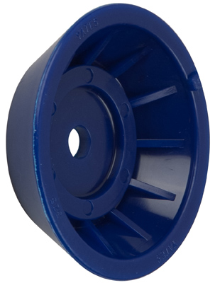 "4"" Bell End Blue Tpr MAIN"
