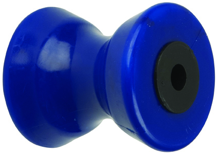 "4"" Bow Roller Blue TPR MAIN"