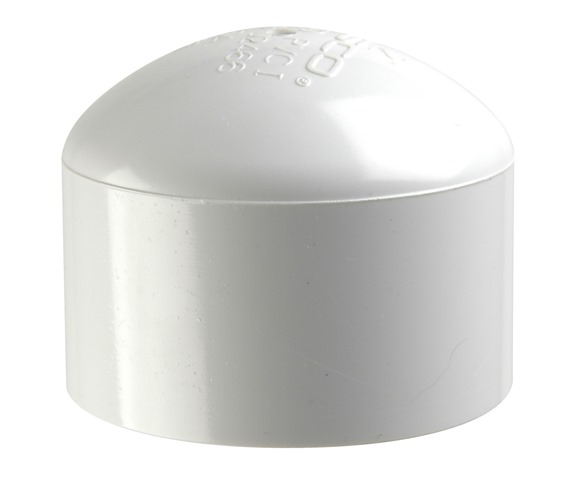 Replacement Pvc Cap For Post Guide-On Pvc Post