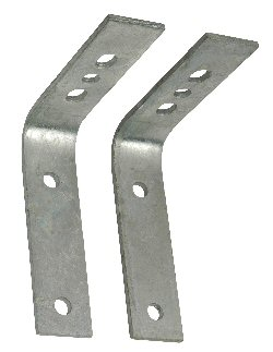 "Fender Mounting Brackets For 7"" Wide Fender"