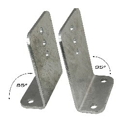 Heavy Duty Vertical Bunk Bracket 95 Degree