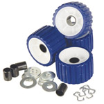 Ribbed Roller Kit Blue Tpr THUMBNAIL