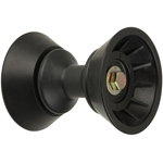"3"" Bow Bell Roller Assembly Black TPR THUMBNAIL"