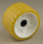"Ribbed Roller Gold Tpr, 5/8"" Shaft Long Trailers THUMBNAIL"