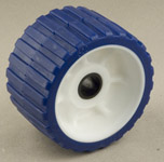 "Ribbed Roller Blue Tpr, 3/4"" Shaft Karavan Trailers"