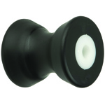 "4"" Bow Roller Black TPR THUMBNAIL"