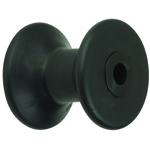 "3"" Bow Roller Black TPR THUMBNAIL"