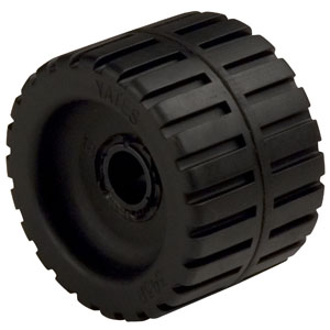Boat Trailer Ribbed Wobble Roller