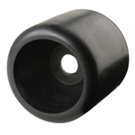 "4-3/8"" Wobble Roller Black Natural Rubber"
