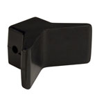 "3""X3"" Bow Y Stop Black Natural Rubber THUMBNAIL"