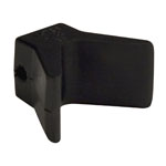 "2""X2"" Bow Y Stop Black Natural Rubber THUMBNAIL"
